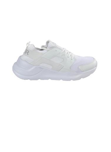 Bestof Bestof 048 Siyah-Siyah Erkek Spor Ayakkabı Beyaz